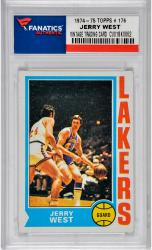 Jerry West Los Angeles Lakers 1974-75 Topps #176 Card