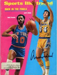 Jerry West Los Angeles Lakers Autographed Back in the Finals Sports Illustrated