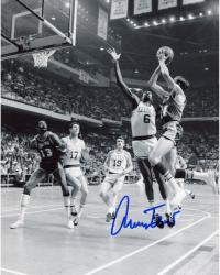 Jerry West Autographed Lakers 8x10 Photo