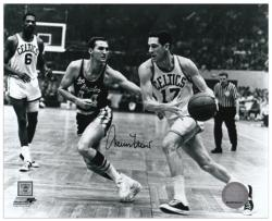 "Jerry West Los Angeles Lakers Autographed 8"" x 10"" Horizontal Black & White Photograph"