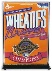 18 oz. Wheaties Box Display Case - Mounted Memories