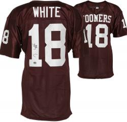 Jason White Oklahoma Sooners Autographed Wilson Jersey