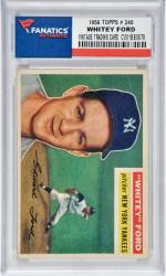 Whitey Ford New York Yankees 1956 Topps #240 Card