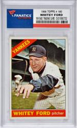 Whitey Ford New York Yankees 1966 Topps #160 Card