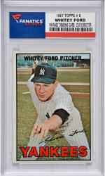 Whitey Ford New York Yankees 1967 Topps #5 Card 1