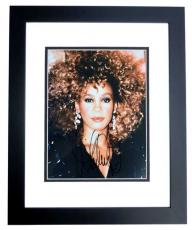 Whitney Houston Signed - Autographed Singer - Actress 8x10 inch Photo - BLACK CUSTOM FRAME - Deceased 2012 - Guaranteed to pass PSA/DNA or JSA