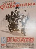 Who Pete Townshend-pearl Jam Eddie Vedder Quadrophenia Chicago Poster 9/13/17