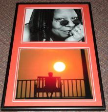 Whoopi Goldberg Signed Framed 12x18 Photo Display The Color Purple