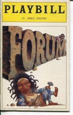 Whoopi Goldberg Stephen Sondheim A Funny Thing Happened On Way Forum Playbill