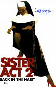 "Whoopie Goldberg Autographed 12"" x 18"" Sister Act 2 Movie Poster - Beckett COA"