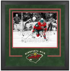"Minnesota Wild Deluxe 16"" x 20"" Horizontal Photograph Frame - Mounted Memories"
