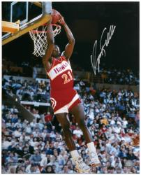 "Atlanta Hawks Dominique Wilkins Autographed 16"" x 20"" Photo - Mounted Memories"