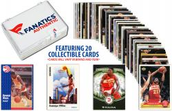 Dominique Wilkins -Atlanta Hawks-Collectible Lot of 20 NBA Trading Cards - Mounted Memories