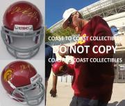 Will Farrell,usc Trojans,signed,autographed,mini Football Helmet,coa.exact Proof