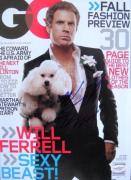 Will Ferrell Anchorman Signed NO LABEL GQ Magazine JSA