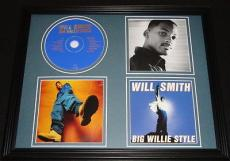 Will Smith 1997 Big Willie Style Framed 11x14 CD & Photo Display