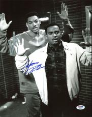 Will Smith Alfonso Ribeiro Fresh Prince of Bel-Air Signed 11X14 PSA/DNA #AB43514