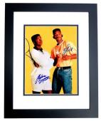 Will Smith and Alfonso Riberio Signed - Autographed The Fresh Prince of Bel-Air 11x14 inch Photo BLACK CUSTOM FRAME - Guaranteed to pass PSA or JSA