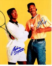 Will Smith and Alfonso Riberio Signed - Autographed The Fresh Prince of Bel-Air 11x14 Photo - Will Smith and Carlton Banks