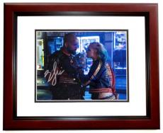 Will Smith AND Margot Robbie Signed - Autographed Suicide Squad 8x10 inch Photo MAHOGANY CUSTOM FRAME - Guaranteed to pass PSA or JSA - Deadshot and Harley Quinn