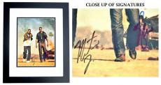 Will Smith and Martin Lawrence Signed - Autographed BAD BOYS 11x14 inch Photo BLACK CUSTOM FRAME - Guaranteed to pass PSA or JSA