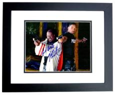 Will Smith and Martin Lawrence Signed - Autographed BAD BOYS 11x14 Photo BLACK CUSTOM FRAME