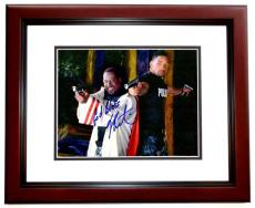 Will Smith and Martin Lawrence Signed - Autographed BAD BOYS 11x14 inch Photo MAHOGANY CUSTOM FRAME - Guaranteed to pass PSA or JSA