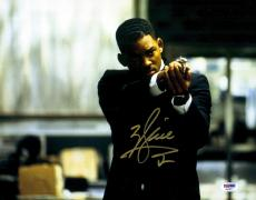 "Will Smith Autographed 11"" x 14"" Men In Black Shooting Gun Photograph - PSA/DNA"