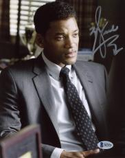 "Will Smith Autographed 8""x 10"" Concussion Wearing Suit Photograph - Beckett COA"