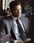 """Will Smith Autographed 8""""x 10"""" Concussion Wearing Suit Photograph - Beckett COA"""