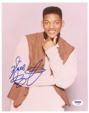 "Will Smith Autographed 8""x 10"" Fresh Prince of Bel Air Hand on Chin Photograph - PSA/DNA COA"
