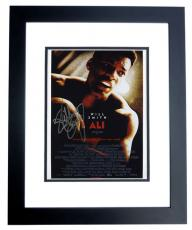 "Will Smith Autographed ""ALI"" 8x10 inch Mini Poster Photo BLACK CUSTOM FRAME"