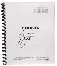Will Smith Autographed Bad Boys Replica Movie Script - PSA/DNA COA