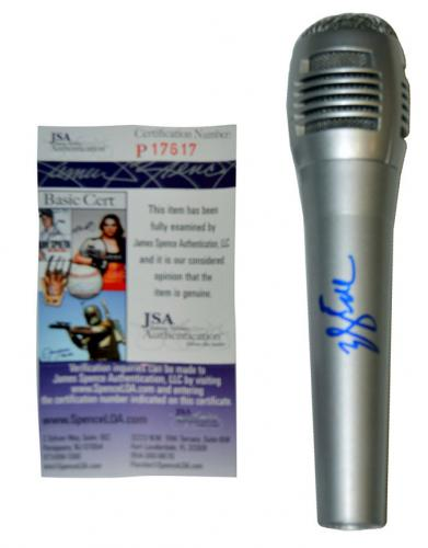 Will Smith Autographed Signed Fresh Prince Silver Microphone UACC RD COA JSA