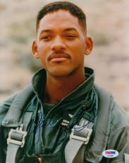 """Will Smith Autographed Signed """"Independence Day"""" 8x10 Photograph (PSA)"""