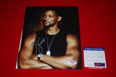 WILL SMITH bad boys men in black suicide squad signed PSA/DNA 8x10 photo