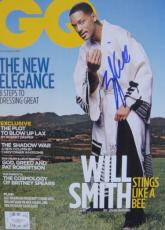 Will Smith BAD BOYS Signed NO LABEL GQ Magazine JSA