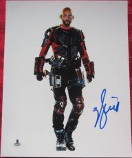 Will Smith Deadshot signed 8x10 photo Beckett BAS Authentic auto