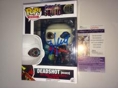 Will Smith Deadshot Signed Funko Pop Vinyl Masked Suicide Squad # 106 JSA CERT