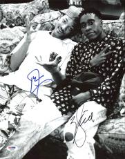 Will Smith & Don Cheadle Fresh Prince of Bel-Air Signed 11X14 Photo PSA #AB62008