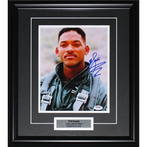 Will Smith Framed Autographed 8X10 Photo