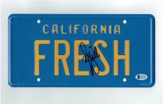 Will Smith Fresh Prince Autographed Signed License Plate Certified BAS COA