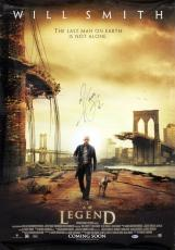 Will Smith I Am Legend Signed 27x40 Poster Autographed BAS #B38648