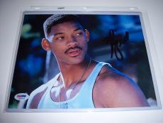 Will Smith Independence Day Psa/dna Signed 8x10 Photo