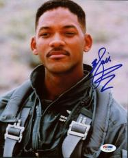 Will Smith Independence Day Signed 8x10 Photo Psa/dna #t77822