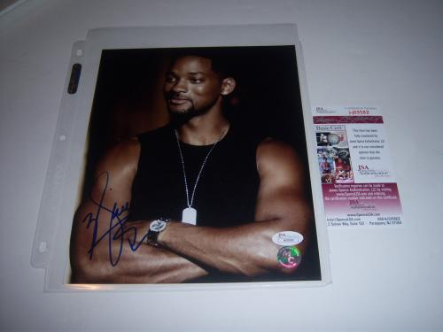 Will Smith Independence Day,men In Black Jsa/coa Signed 8x10 Photo