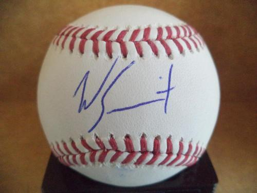 Will Smith Los Angeles Dodgers Signed Autographed M.l. Baseball W/coa