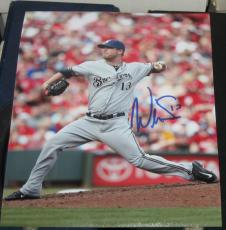 Will Smith Milwaukee Brewers SIGNED 8x10 Photo COA Autographed Baseball MLB