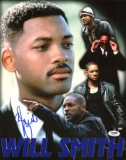 Will Smith Movie Collage Signed 11X14 Photo PSA/DNA #AB81467