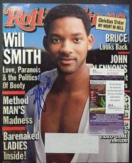 Will Smith Movie Legend Jsa Coa Signed Autographed Rolling Stone Magazine Cover